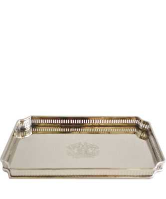 Rectangular Nickel Tray - High Street Market