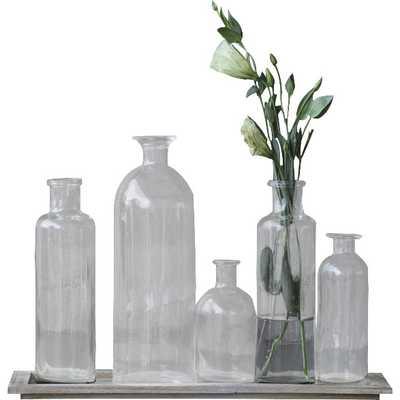 Canton 6-Piece Vase Set with Tray - Wayfair