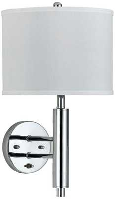 Cal Lighting Rounded Plug-In Wall Lamp - Lamps Plus