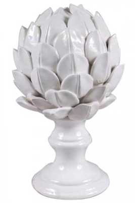 Ceramic Artichoke Finial - Home Decorators