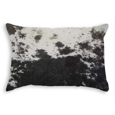 Torino Cowhide Pillow - Domino