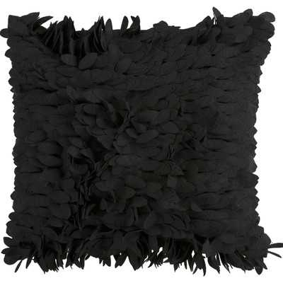 "Luanna Throw Pillow - Black;  18""x18"" (Polyester Insert) - Wayfair"