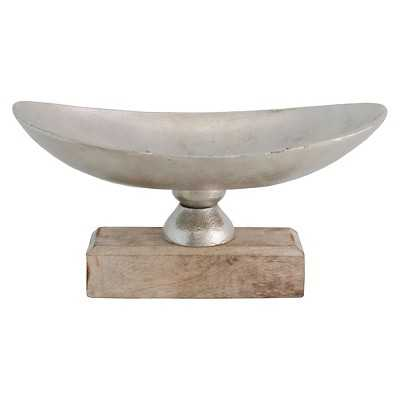Import Collection Decorative Bowl - Silver - Target