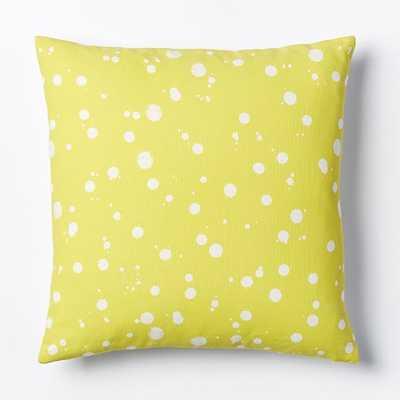 Splatter Pillow Cover - West Elm