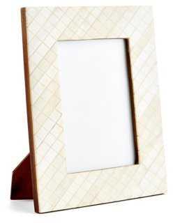 Darjeeling Carved Frame, 5x7, Ivory - One Kings Lane