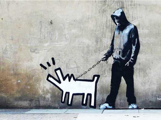 """Banksy Print - 16""""x 20"""" - Unframed - Etsy"""