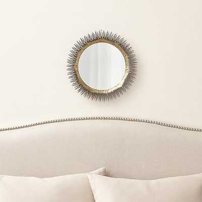 Clarendon Small Round Wall Mirror - Crate and Barrel