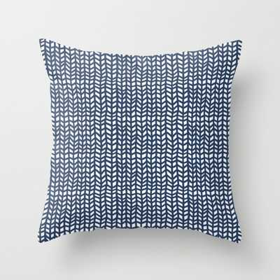 Chevrons - 20 x 20-  Faux down pillow insert - Society6