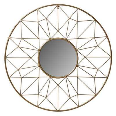 Renata Metal Wall Mirror - AllModern