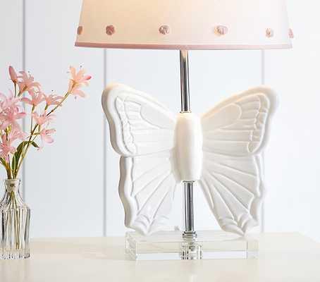 Butterfly Ceramic Base - Pottery Barn Kids