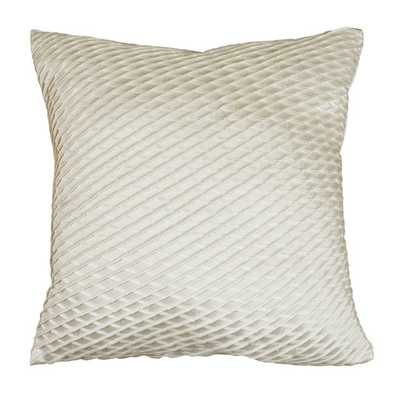 "Mystique Throw Pillow - Off White - 20"" - with insert - AllModern"