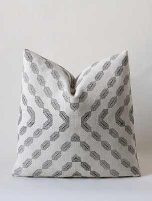 "Prana Cushion - 18"" x 18"" - with insert - susanconnorny.com"