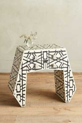 Deco Inlay Nightstand - Anthropologie