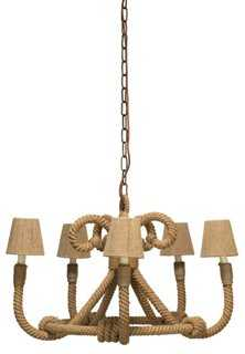 Nautique Chandelier- 6 Light - One Kings Lane