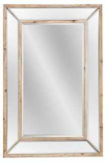 Wellen Oversize Mirror, Natural/Clear - One Kings Lane