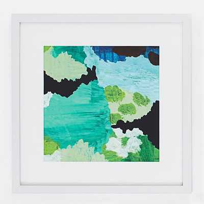 Minted for west elm - Nishna II - 20x20 - Framed - West Elm