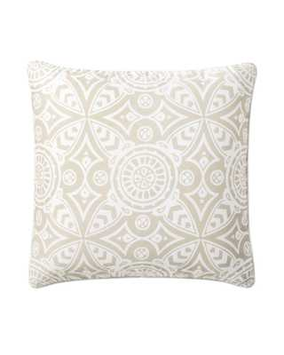 Medallion Euro Sham - Serena and Lily