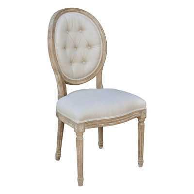 King Louis Side Chair - Wayfair