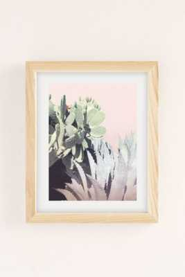 Wilder California Agave And Prickly Pear Art Print - Framed - Urban Outfitters