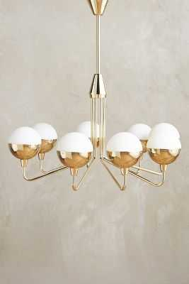 Anchored Orb Chandelier - Small - Anthropologie