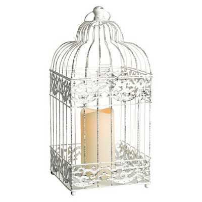 Birdcage Lantern - Black/White - Target