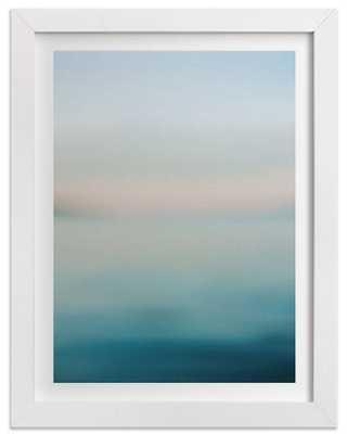 "Cornflower Lake View - 18""x24"" - Framed - Domino"