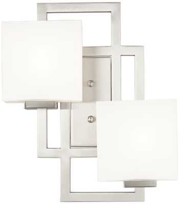 Lighting on the Square Wall Sconce - Lamps Plus