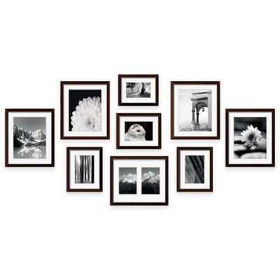 "Swing Designâ""¢ 9-Piece Frame Gallery in Espresso - Bed Bath & Beyond"