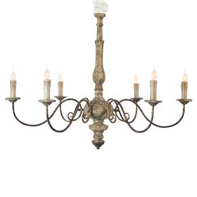 Avignon French Country Scroll Chandelier - Kathy Kuo Home