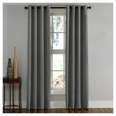 "Curtainworks Lenox Room Darkening Curtain Panel- 50"" W x 132"" L - Target"