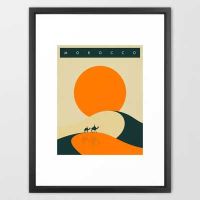Morocco Travel Poster - Society6