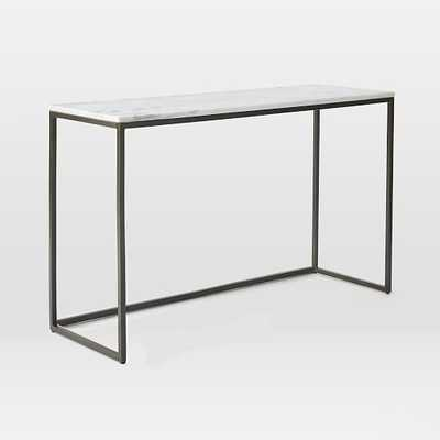 Box Frame Console - Marble - West Elm