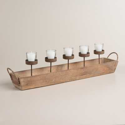 Landon 5-Votive Tray Candleholder - World Market/Cost Plus