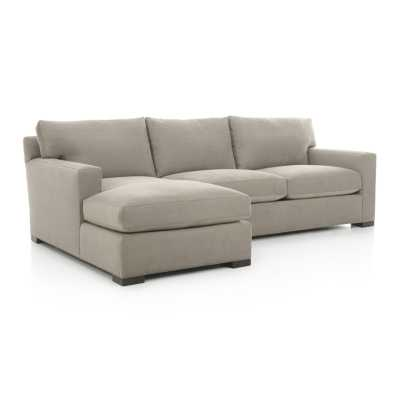 Axis II 2 Piece Sectional Sofa - Crate and Barrel