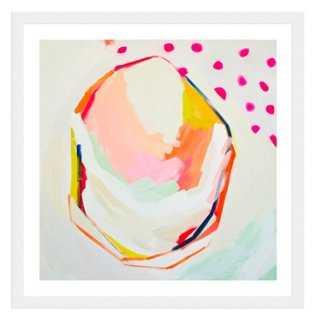 """Britt Bass Turner, Pink Polka Dot S35 - 24"""" x 24"""" - Framed - One Kings Lane"""