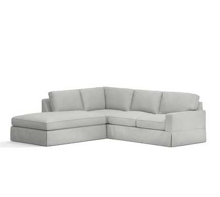 Right 3-Piece Bumper Sectional - Pottery Barn