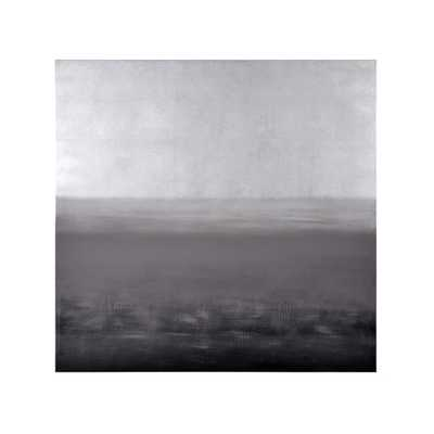 Ikon White Storm Canvas Painting-Unframed - AllModern