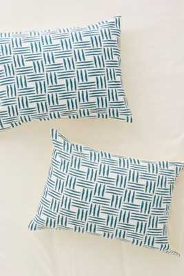 Social Proper For Deny Wasserweave Pillowcase Set - Urban Outfitters