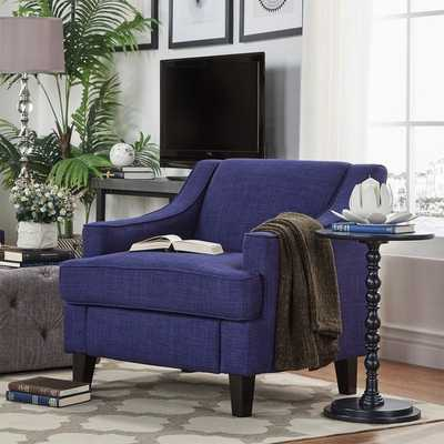 INSPIRE Q Winslow Concave Arm Modern Accent Chair - Overstock