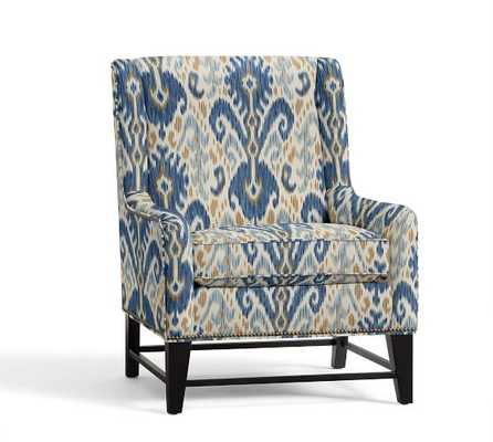BERKELEY UPHOLSTERED ARMCHAIR - Pottery Barn