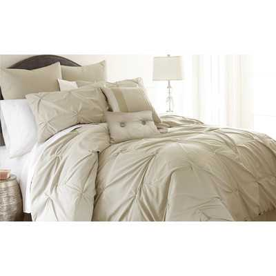Ella 8 Piece Embellished Comforter Setby Amrapur - king - Wayfair
