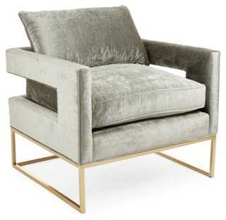 Bevin Accent Chair - One Kings Lane