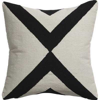Xbase Pillow with Feather Insert - Domino