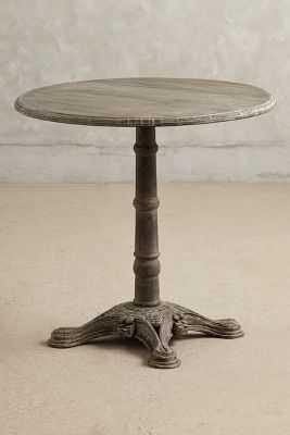 Poncelet Side Table-Dark Grey - Anthropologie