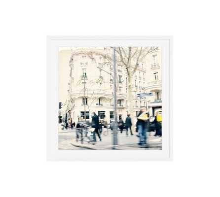 Postcard from Paris - 25x25, Mat, Framed - Pottery Barn