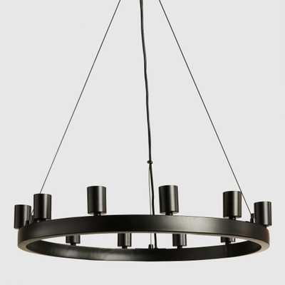 Round 12-Light Edison Bulb Chandelier - World Market/Cost Plus