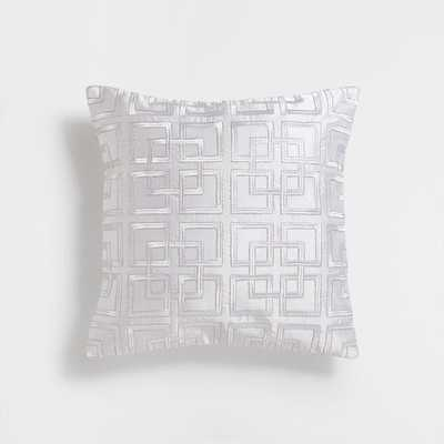 "CHECK GRID CUSHION COVER - 15,5 X 15,5 "" - Insert not included - Zara Home"