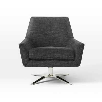 Lucas Swivel Base Chair - West Elm