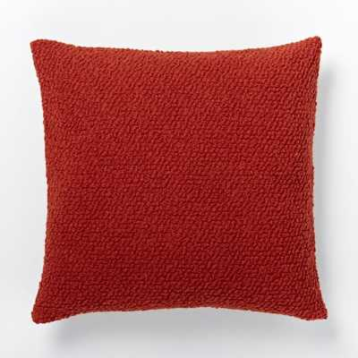 Cozy Boucle Pillow Cover - 18x18 - Insert Sold Separately - West Elm