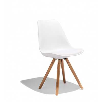 TAKA SIDE CHAIR - White - Industry West